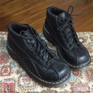 Dr. Martens woman's  black shoes size 6